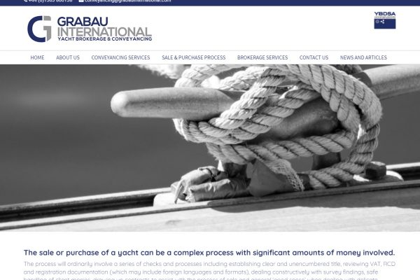 Introducing the new YachtConveyancing.com website